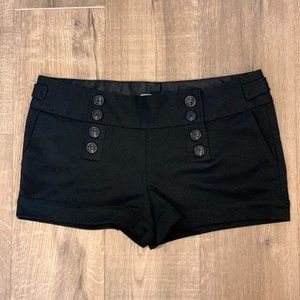 ✹ 3/25 Charlotte Russe Black Shorts